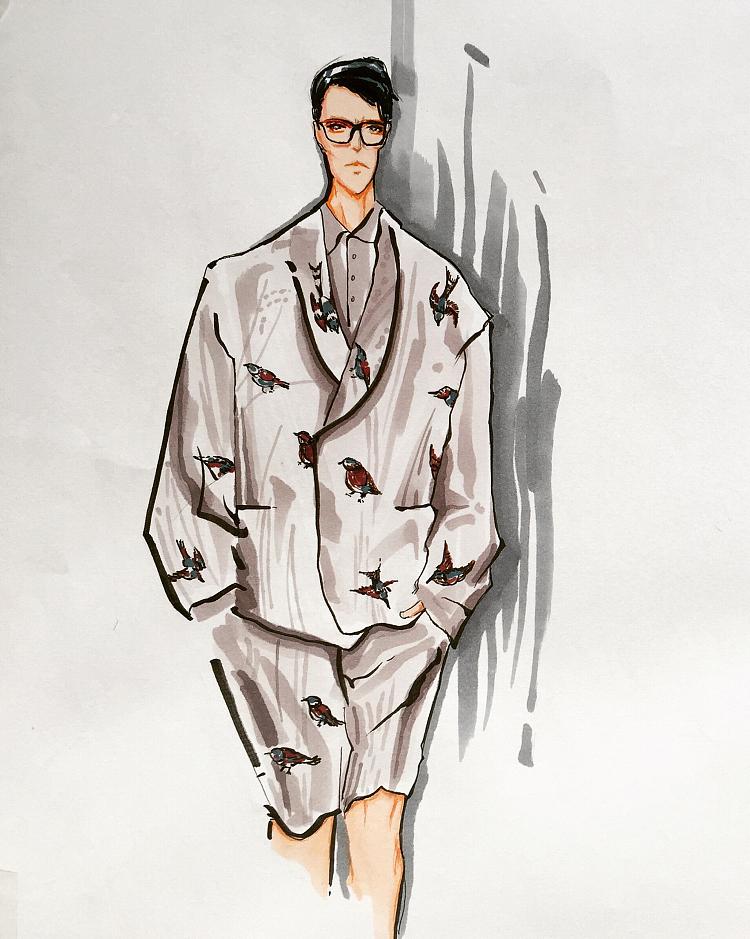 关于服装设计形式美的4个基本要素